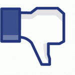 Facebook image - thumb down