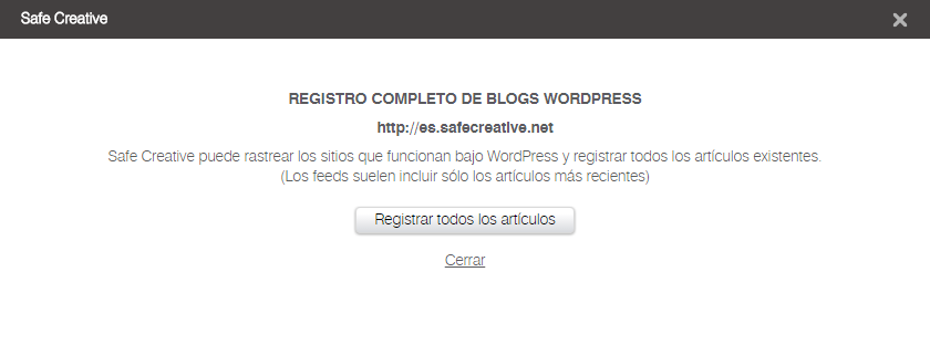 Registro WordPress Completo | Paso 3