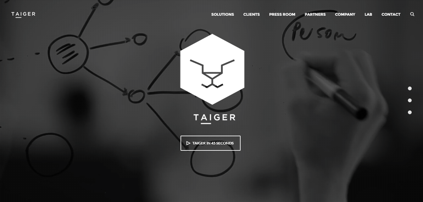 Taiger Homepage