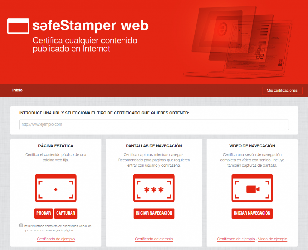 Safe Stamper Web